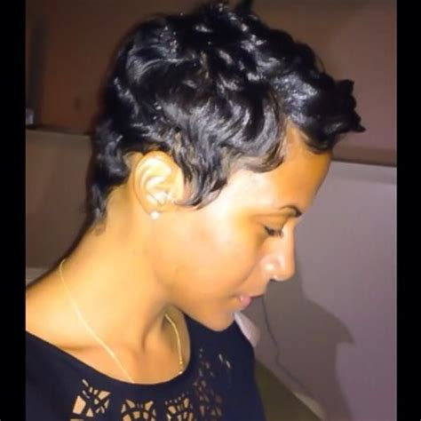 black women short hairstyles with soft waves 17 best images about cute styles fingerwaves soft