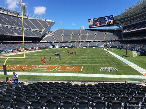Soldier Field Media Deck by Soldier Field Section 121 Chicago Bears Rateyourseats
