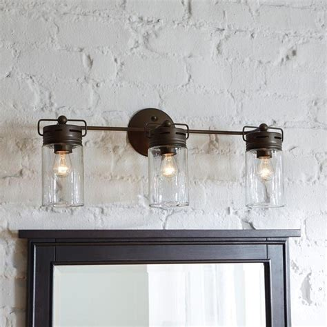 farmhouse bathroom light fixtures ideas  decorelated