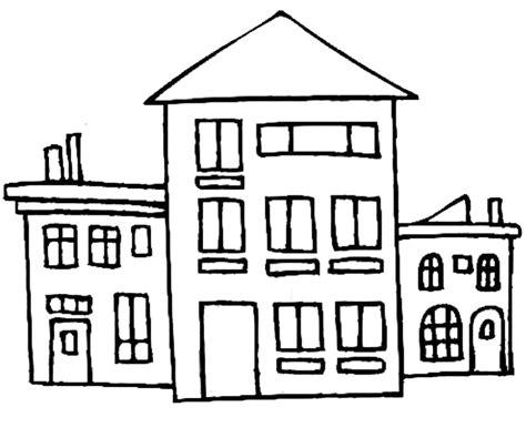 disegno casa sta disegno di da colorare