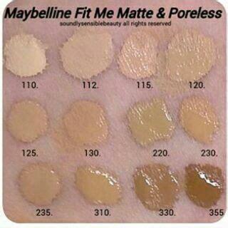 Maybelline Fit Me Matte Poreless Foundation 220 maybelline fit me matte poreless foundation shopee