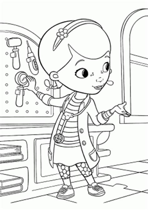 medical instruments coloring pages disney cartoons coloring pages for kids free printable