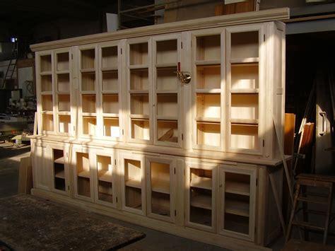 libreria con ante libreria con ante da verniciare artigianlegno