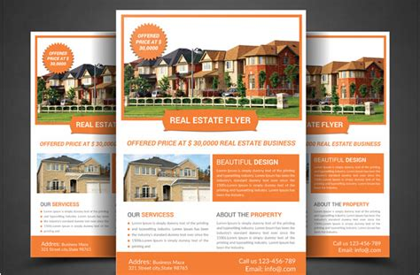 real estate agent brochure templates csoforum info