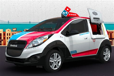 domino pizza delivery cibubur domino s now has a fleet of delivery cars designed to keep