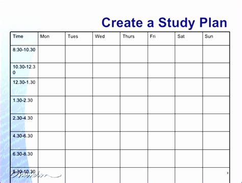 study planner template free 8 weekly timetable template excel exceltemplates