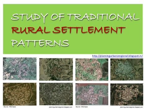 types pattern and morphology of rural settlement in india sustainable settlement patterns