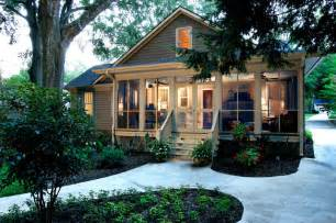 Cottage Floor Plans With Screened Porch by Suburban Cottage Traditional Exterior Other By
