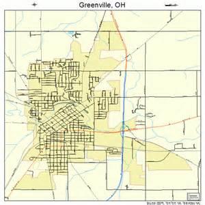 greenville ohio map 3932340