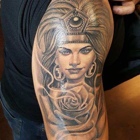 aztec girl tattoo 125 best aztec designs for