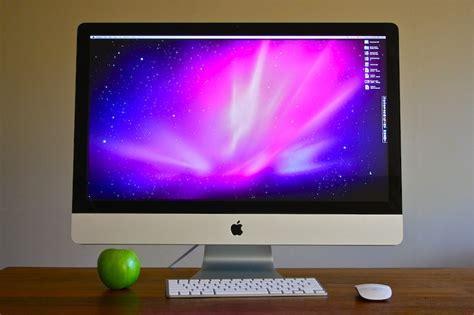 Apple Imac Review 27 Inch And Less Chin Gizmodo Australia Apple Desk Top Computers