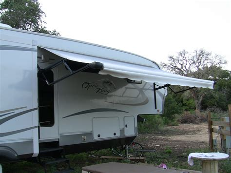 awning for trailer rv awning fifth wheel pictorial guide