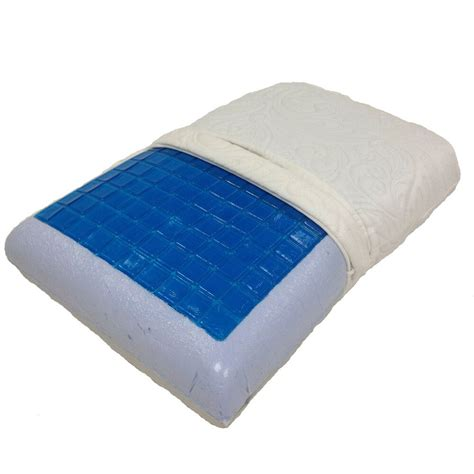 Cooling Pillow - king size cool gel memory foam pillow ebay