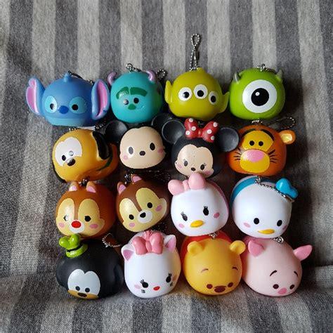 Squishy Disney Tsum Tsum 16 designs authentic tsum tsum disney squishy toys cake