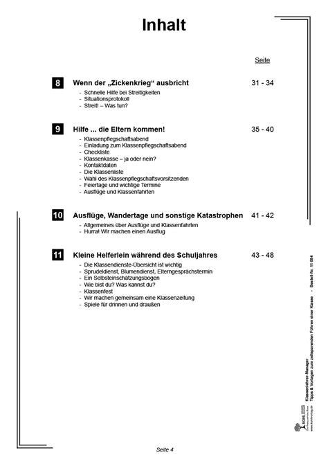 Muster Einladung Br Sitzung Kohl Verlag Klassenlehrer Manager Tipps Und Vorlagen Zum Zeitsparenden F 252 Hren Einer Klasse