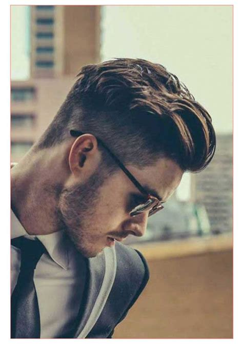 short hair on top and sides poney tail in back mens hairstyles long top short sides best short hair styles