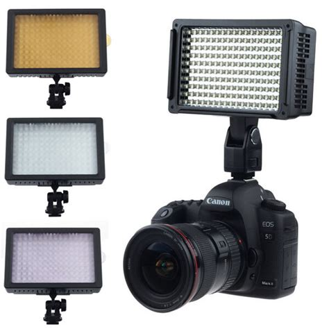 160 led light shoe l photo studio lighting for canon nikon ebay
