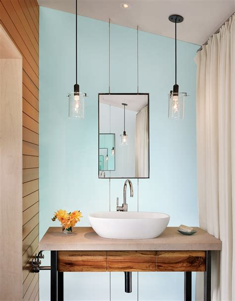 Hanging Bathroom Light Industrial Hanging Lights With Wall Lighting Entrance