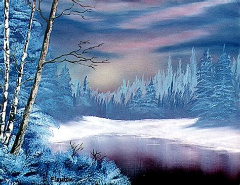 winter acrylic painting ideas winter twilight by deanne flouton from acrylic paintings