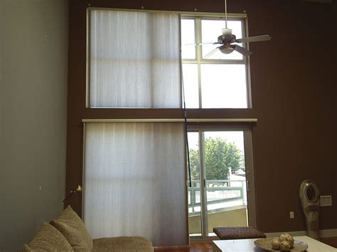 l shades san francisco hunter douglas vertiglide duette shades great for wide