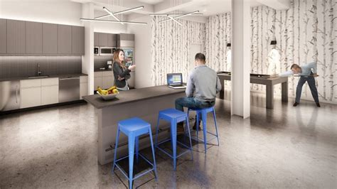 Broadway Pantry by Equity Office Shows Pre Built Space At 1740 Broadway Real Estate Weekly