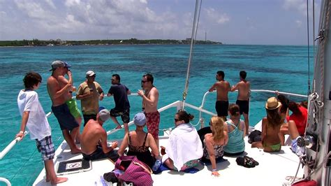 catamaran cancun to isla mujeres catamaran tour to isla mujeres with exploratours youtube
