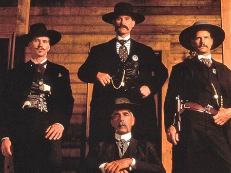 cowboy film wyatt earp tombstone 20th anniversary the movie s best mustaches