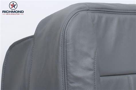 dodge ram    laramie driver side bottom leather seat cover gray ebay