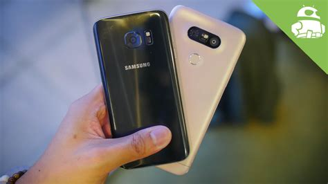 samsung vs lg samsung galaxy s7 vs lg g5 on comparison android authority
