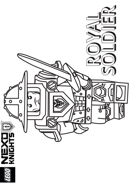 nexo knights coloring pages aaron lego nexo knights coloring page royal soldier printable