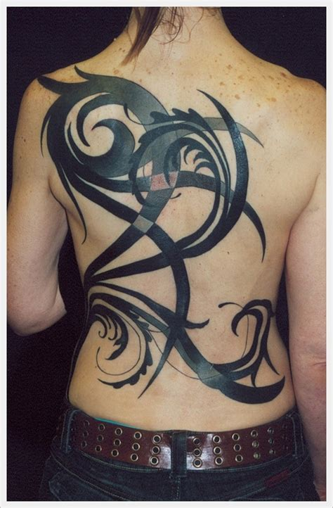 tribal spine tattoo designs 35 tribal back designs