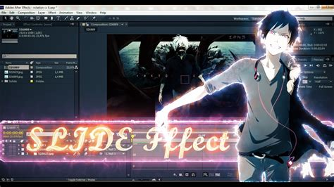 shake after effects amv tutorial slide transition effect shake preset in
