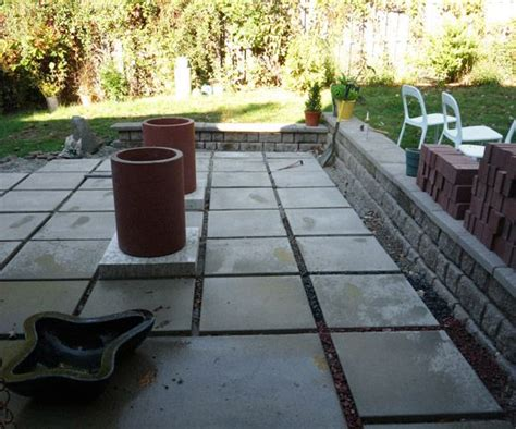 patio concrete pavers and kitchen tile diy on pinterest