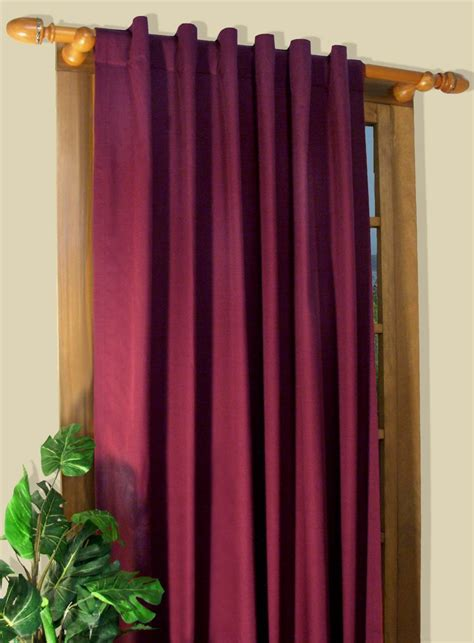 ways to drape curtains rod pocket curtains thecurtainshop com