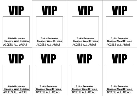 free vip ticket template on business card stock free printable vip ticket access template exle with