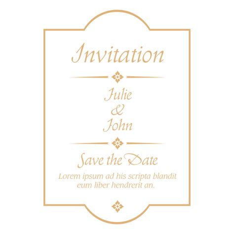 transparent background invitations announcements zazzle wedding invitation badge 4 transparent png svg vector