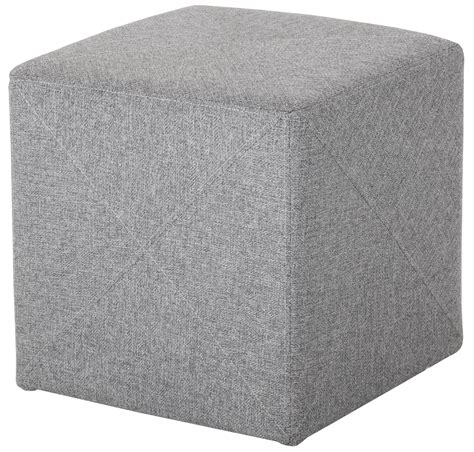 fabric ottoman jackson light grey fabric ottoman 101043 sunpan modern home