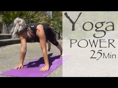 power yoga tutorial video full download 25 min power yoga ab core workout shred at