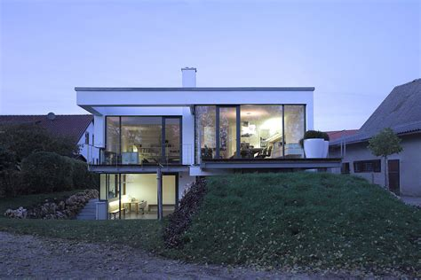 Level A House by Contemporary Split Level Home In Aalen Germany