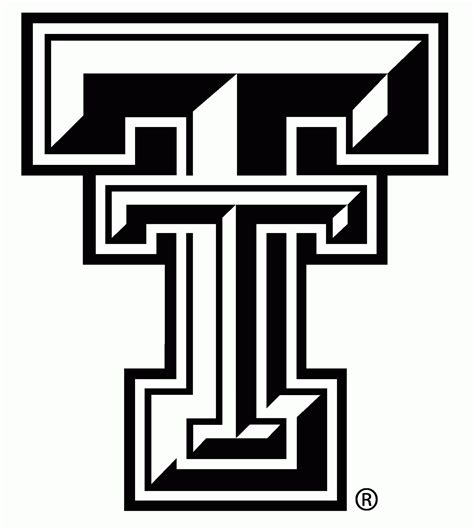 Texas Tech Coloring Pages Coloring Home Tech Coloring Page