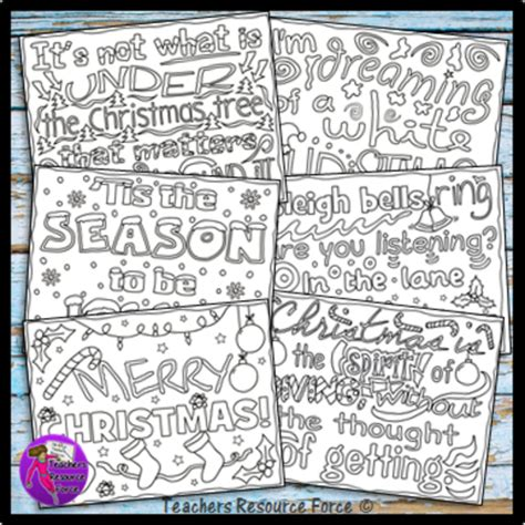 christmas coloring pages with quotes christmas quotes colouring pages for teens by uk