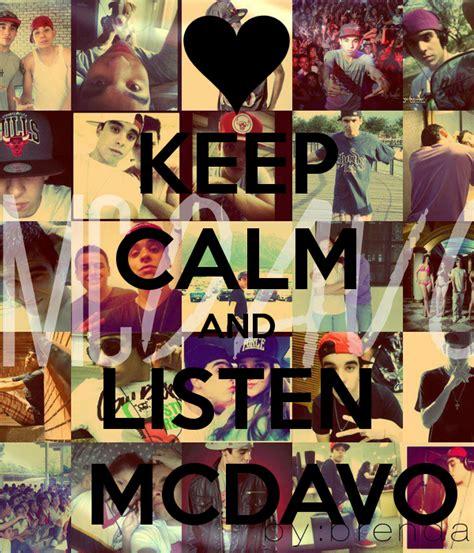 fondos de mc davo keep calm and listen mc davo keep calm and love mc davo