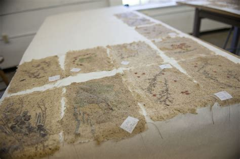 Handmade Paper Process At Home - fiber artist shares process with students mississippi