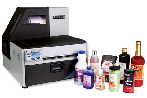 color label printer afinia l801 digital color label printer