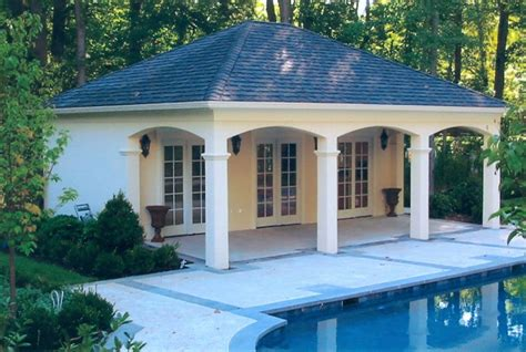 poolhouse plans cool small pool house floor plans best house design