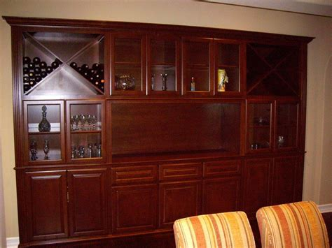 Unique Bar Cabinets Same Wine Cabinet Design That Builders Offered But 1 3 Of The Price C L Design Specialists Inc
