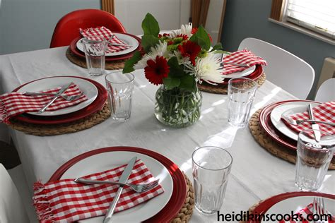 valentines day table setting casual s day table setting heidikins cooks