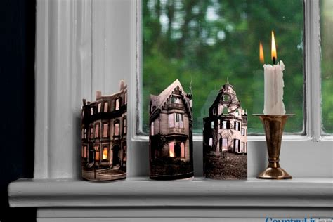 walmart country treetops decorations mini ghost town candles from country living huffpost