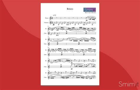 libertango testo spartito gratis bolero di ravel arrangiato per flauto