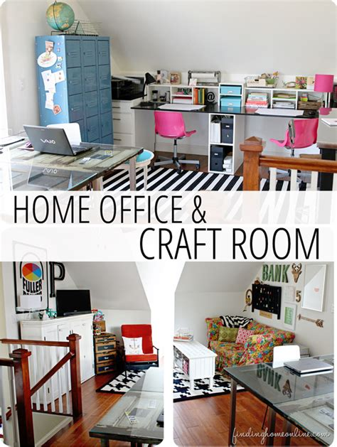 Home Office Craft Room Design Home Tour Home Office Country Design Style